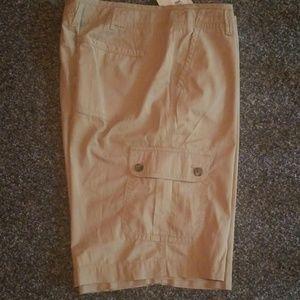 Liz Claiborne Khaki Shorts